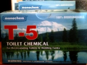 T-5 Toilet Chemical drop-in treatment 10-pack  $18.99